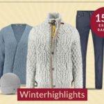 Engelhorn: 15% Rabatt auf Winterhighlights
