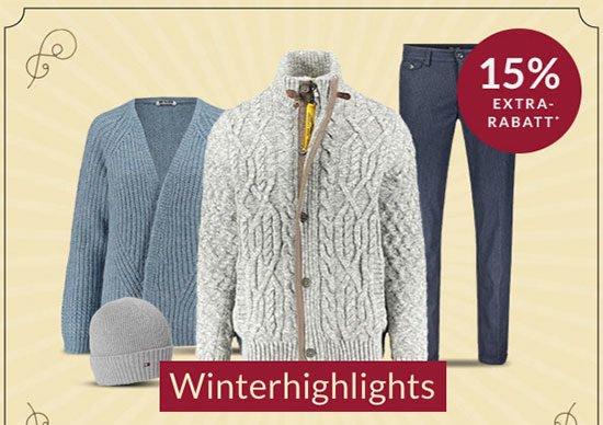 Kleidung Wintermode Funktionskleidung Schnäppchen sparen Bekleidung