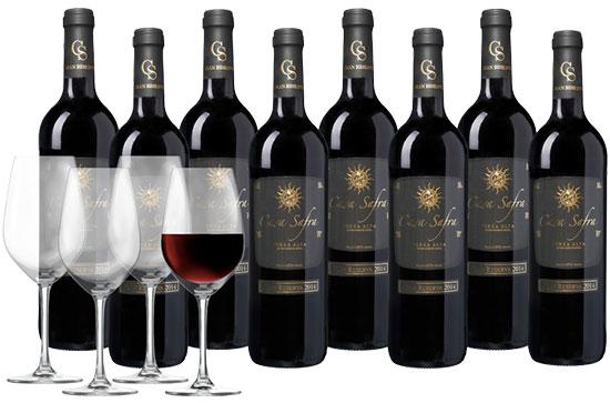 Wein Rotwein Spanien Angebot Deal Gläser Weingläser Deal Sparpaket