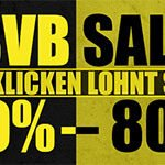 Sport-1A: BVB-Sale mit bis zu 80% Rabatt + 10% Extra-Rabatt (z.B. Heimtrikot 18/19 für 35,99€)
