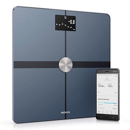 Waage Bluetooth Wlan Fettmessung Körperzusammensetzung