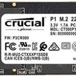 CRUCIAL P1 interne SSD (M.2 mit 500 GB) für 66,00€ inkl. Versand