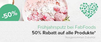 Gutschein Rabatt Fabfoods Lebensmittel Ernährung