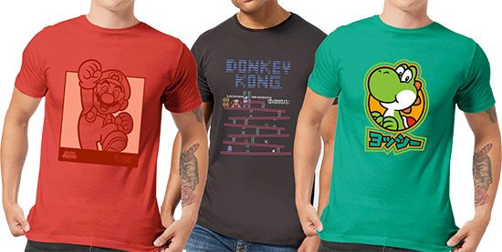 Nintendo T-Shirts Angebot Deal