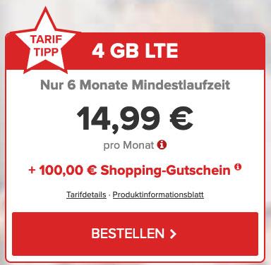Deal Tarifhaus Bunte LTE Angebot