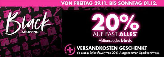 Galeria Kaufhof: 20% Rabatt auf fast alles + 15% auf