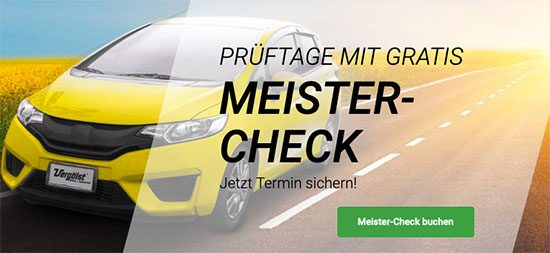 Vergölst Check Deal Angebot Werkstatt Fachbetrieb Autowerkstatt Autoprüfung
