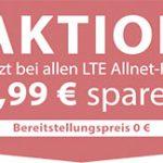 PremiumSIM: LTE-Tarife Allnet- & SMS-Flat mit 2GB für 6,99€, mit 4GB für 9,99€, mit 6GB für 14,99€, mit 8GB für 19,99€  – ohne Datenautomatik – monatlich kündbar!