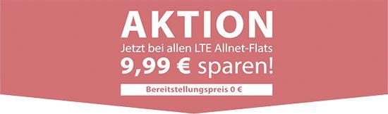 Angebot LTE Tarife Deal Schnäppchen Handyvertrag