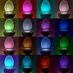 Toilettenlicht mit Bewegungsmelder und 16 Farben für 2,73€ inkl. Versand