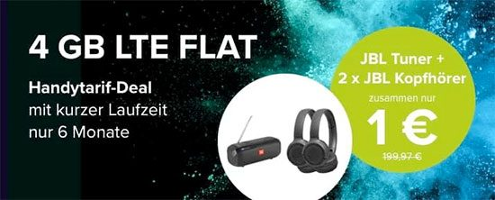 LTE JBL Aktion Deal Angebot
