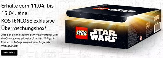 LEGO Star Wars Überraschungsbox Deal