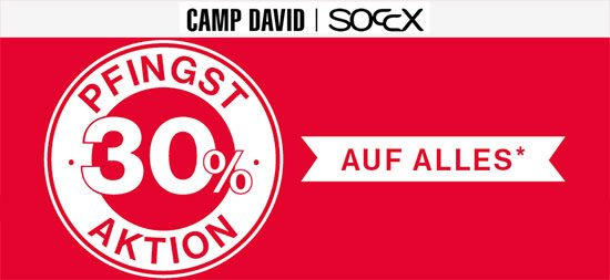 Sale Gutschein Rabatt Camp David Soccx