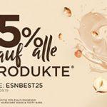 Fitmart: 25% Rabatt auf alle ESN-Produkte (z.B. 1kg ESN Designer Whey-Protein ab 14,17€)