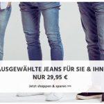 Jeans-Direct: Marken-Jeans von G-Star, Levi's und Co. für 29,95€ inkl. Versand