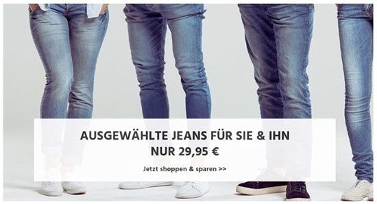 Jeans Angebot Deal Levis Mustang