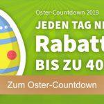 Lottohelden: Oster-Countdown 2019 – heute: 4 Felder EuroJackpot + 3 Felder Euromillions + Osterlotterie 1/20 Los für 12,00€ anstatt 18,00€