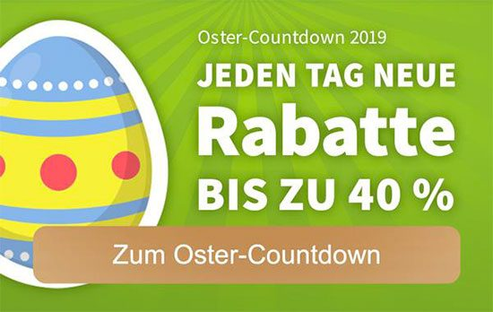 Lottohelden Ostercountdown Angebot Rabatt Deal Sparen