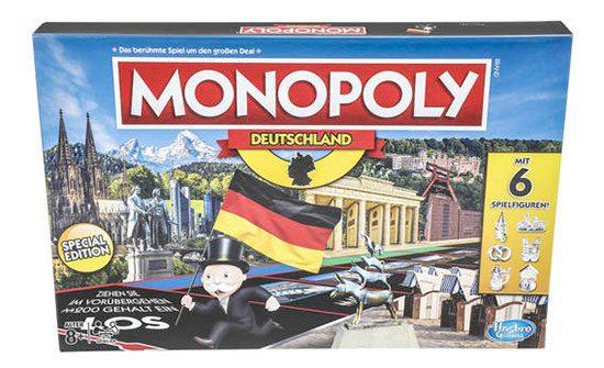 Monopoly Deutschland Hasbro Brettspiel Gemeinschaftsspiel