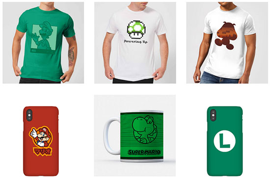 Nintendo Angebot Deal T-Shirt Handyhülle