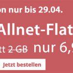 PremiumSIM: Allnet-Flat + 3GB LTE + monatlich kündbar für nur 6,99€ mtl.