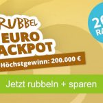 """Rubbellose der Woche: """"Rubbel Eurojackpot"""" 10 Lose für 16,00€ (statt 20,00€) – für Neu- und Bestandskunden"""