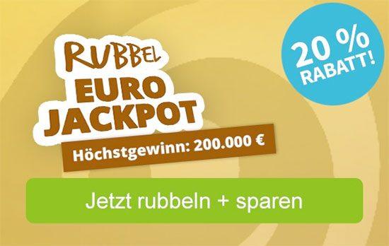 Rubbellose Gewinnspiel Lotterie Angebot