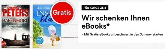 eBook Lesen Bücher geschenkt Deal