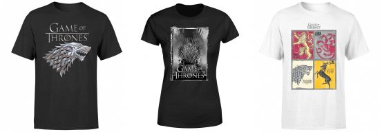 Game of Thrones T-Shirts Angebot Deal Sparen
