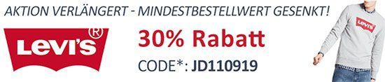 Gutschein Levi's Jeans-Direct Deal sparen rabatt