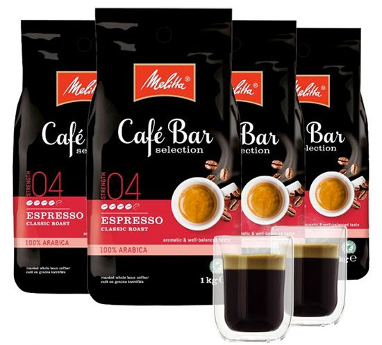Melitta Cafe Bar Selection Kaffeebohnen Angebot Deal Sparen