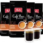 ☕ 4kg Melitta Espresso Dark Roast für nur 29,99 € inkl. Versand (statt 77,83€) + 2 Gratis Gläser ☕