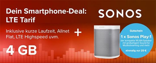 Sonos Play1 Deal Lte Tarifhaus