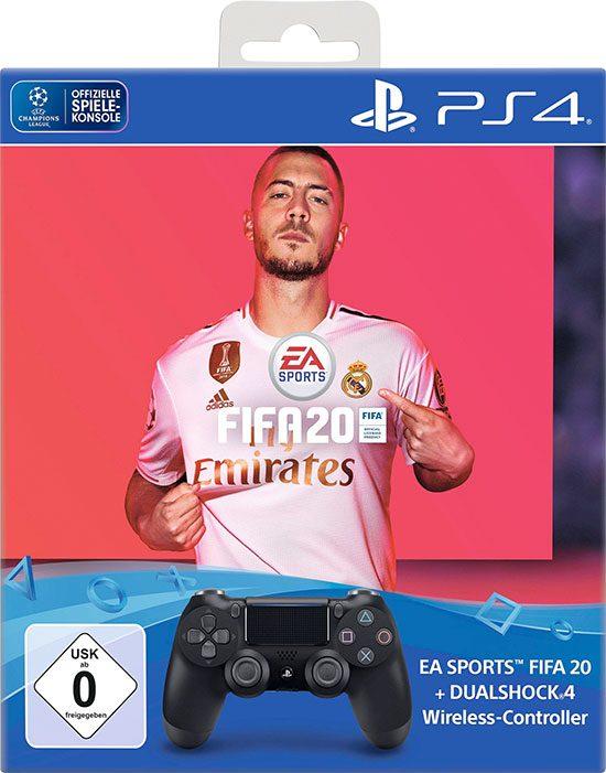 PS4 FIFA20 Angebot Sparen Bundle DualShock Controller EA