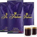 3kg Grand Maestro Italiano Celeste Kaffeebohnen + 2 doppelwandige Gläser für 39,94€ inkl. Versand