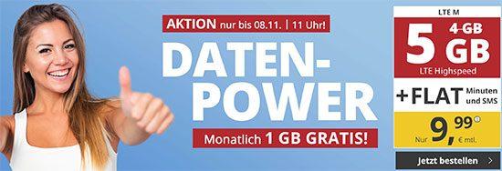 PremiumSIM LTE Deal Angebot Sparen Handyvertrag