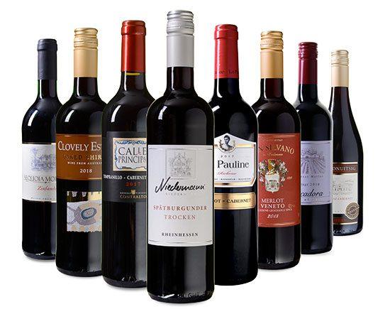 Weinpaket Geschenk Geschenkpaket Weine Deal