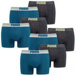 PUMA Herren Boxershorts 8 Stück für 32,99€ inkl. Versand