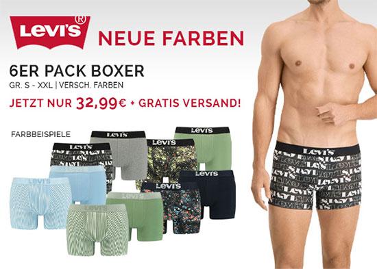 Boxershorts Angebot Deal Levi's sparen schnäppchen
