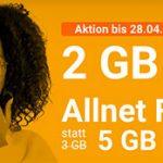 winSIM: Allnet-Flat + 5GB LTE für 7,99€ + mtl. kündbar + 10€ Wechselbonus