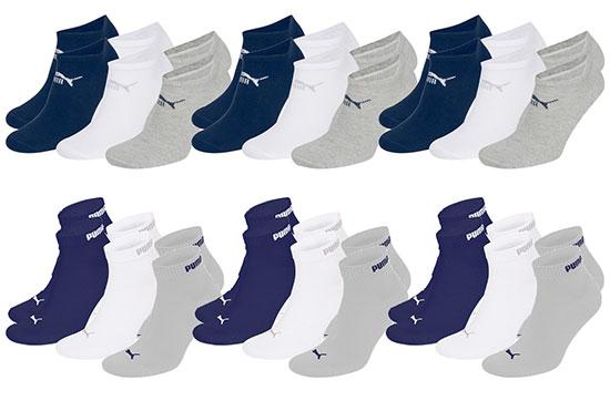 Puma Socken Deal Quarter Clyde Sneakersocken Sparen Rabatt