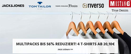 Multipack T-Shirts Deal Rabatt Sparen
