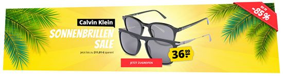 Sonnenbrillen Deal Sparen Sommer Angebot Sportspar