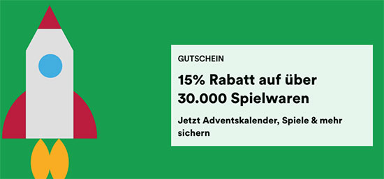 Spielwaren Gutschein Thalia Angebot Deal