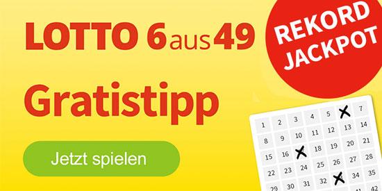 Lotto Deal Sparen Rabatt 6aus49