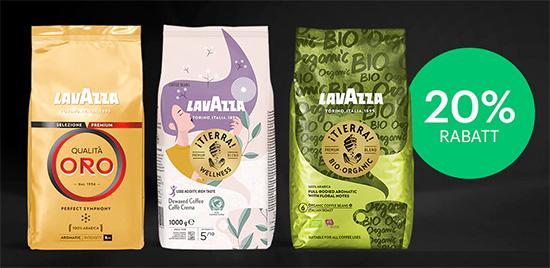 Lavazza Gutschein Kaffeebohnen Sparen Rabatt Italien