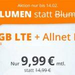 sim.de Allnet-Flat + 10GB LTE für 9,99€ + monatlich kündbar