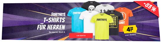 T-Shirts FORTNITE Deal Game Fanwear Merchandise