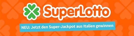 SuperEnaLotto Jackpot Italien Lotterie Schnäppchen