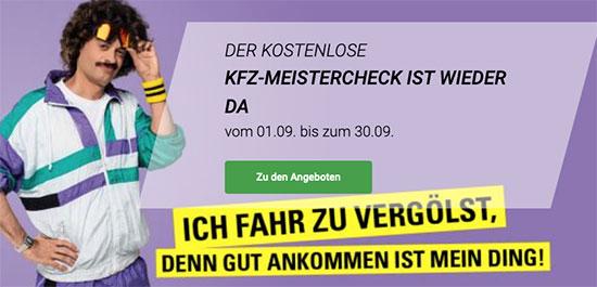 KFZ Check gratis bei Vergölst